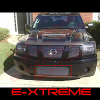 Billet Grille Grill For Nissan Armada 04-07 Bumper(14 Bars)