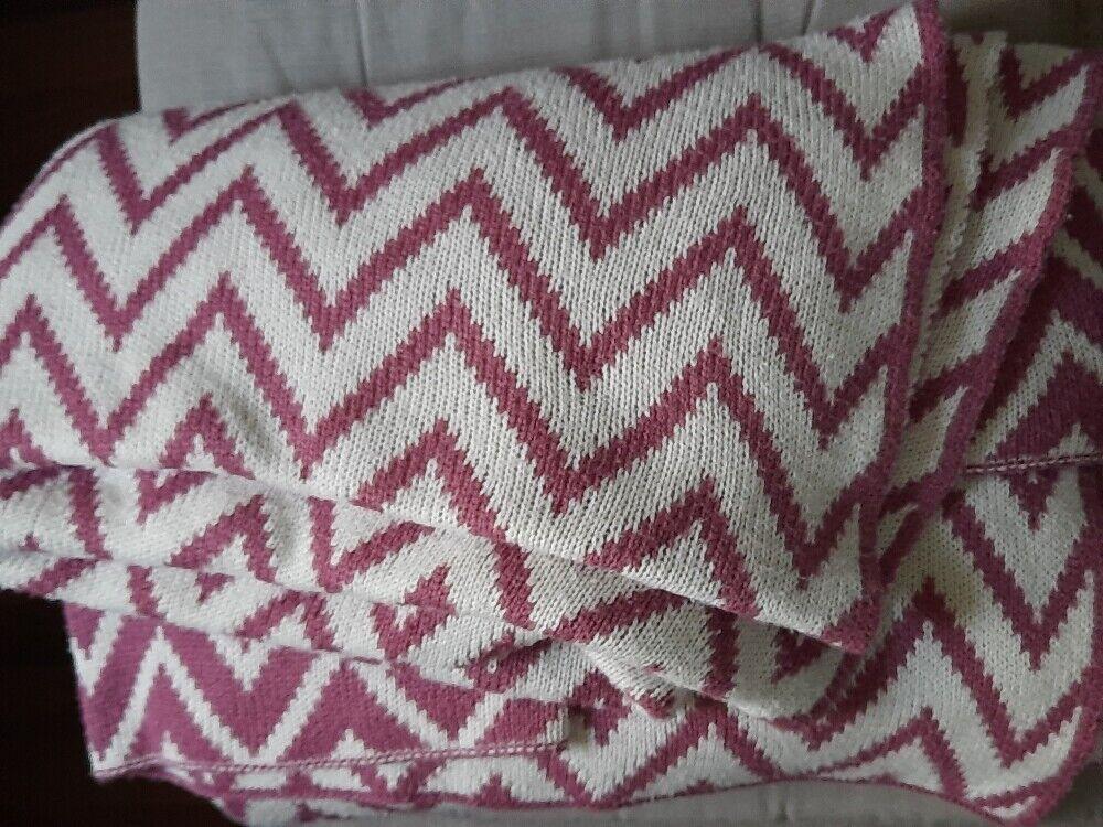 Decke, Kuscheldecke, beige mit alt Muster, 100 % Polyacryl, TCM, 170 x 140cm