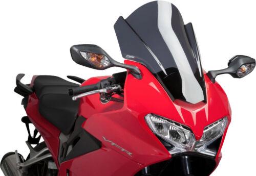 Dark Smoke Touring Windscreen Puig 7007F For 14-15 Honda VFR800//D