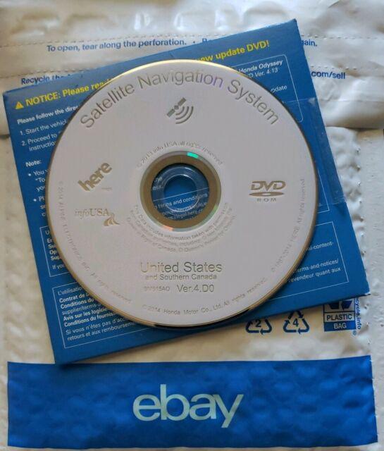 4.D0 Navigation DVD Acura RL TL MDX TSX RDX 2006 2007 2008