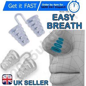 Anti-russare-respirare-facile-Dormire-Aiuti-nasale-Dilatatori-Naso-Dispositivo-di-plastica-morbida