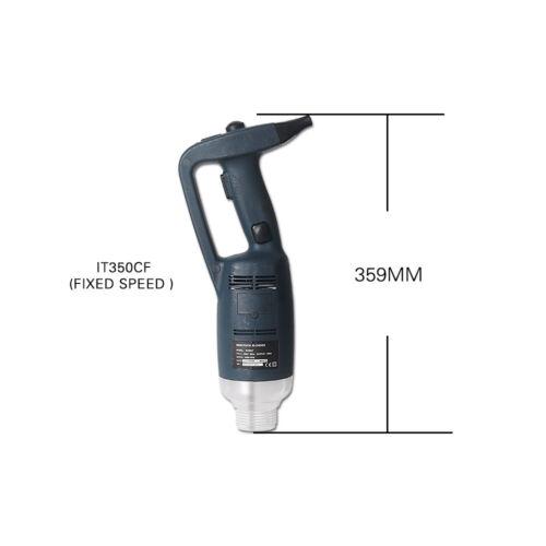 Kommerziell Profi 350W Handmixer Stabmixer 500mm Edelstahl-Mixfuß Mixstab CE