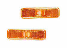 Pair of Front Side Marker Lights - Left & Right Side - Fits Dodge / Plymouth