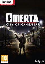 De « omertà »: ciudad De Gangsters (Pc-dvd) Nuevo Sellado