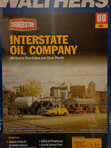 Walthers Cornerstone HO #3006 Interstate Fuel & Oil