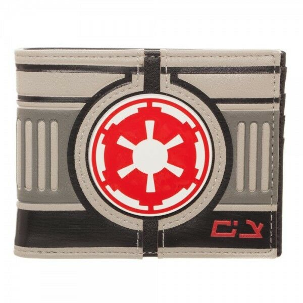 Star Wars Wallet Bifold AT-AT Driver Red Empire Logo NEW Bioworld Gift