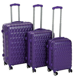 ABS-Hard-Shell-Cabin-Suitcase-Case-4-Wheels-Luggage-Lightweight-20-034-24-034-28-034