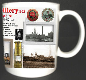 FRICKLEY-amp-ELMSALL-COLLIERY-COAL-MINE-MUG-LIMITED-EDITION-YORKSHIRE-MINERS-GIFT