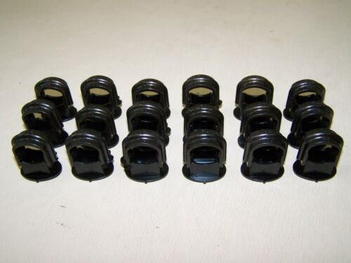 10 Old CABLE CLAMPS SIZE S Bakelite for Switch Socket Cable Clamp