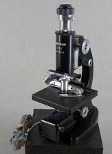 Vintage Unitron Mlk Microscope W Multi Power Eyepiece Amp Lighted 40x Up To 800x