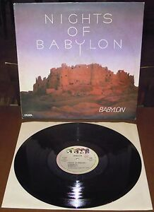 LP BABYLON Nights of Babylon (Sgm 83 ITALY)French avant electro synth library NM