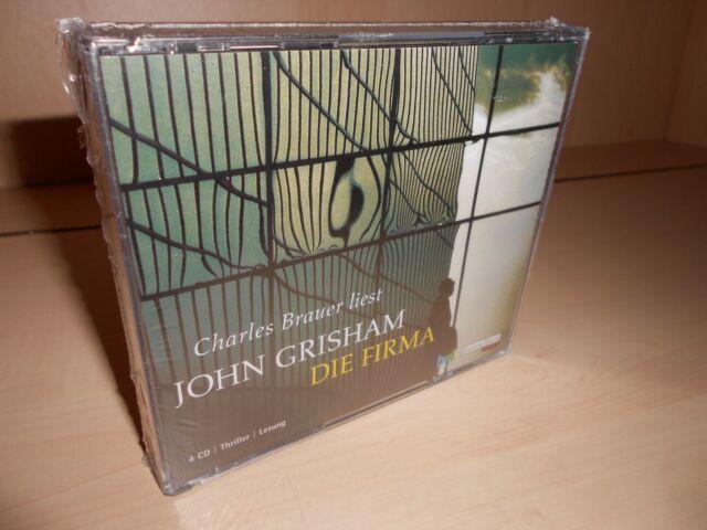 Die Firma - Hörbuch von John Grisham - Gekürzte Lesefassung - 4 CD's - Neu