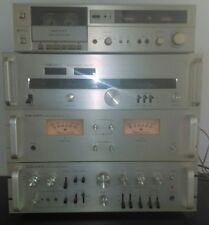 Vtg. Scott Stereo amplifier Alpha 1 Scott Stereo preamplifier Alpha 1 combo RARE