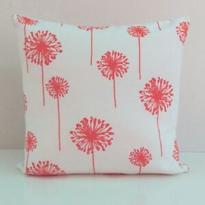 Image Is Loading Raspberry Red On White Decorative Throw Pillow Cover