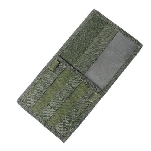 Molle Tactical Vehicle Visor Panel Storage Bag Car Sun Visor Organizer CD Pouch