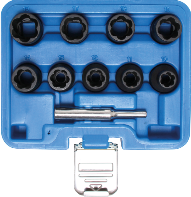 BGS Schrauben Ausdreher Satz 10-19 mm für Schlagschrauber Spezialsteckschlüssel