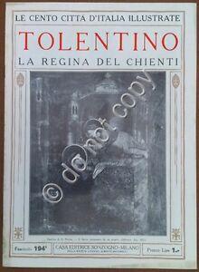 Le-cento-citta-d-039-Italia-illustrate-n-194-Tolentino-la-regina-del-Chienti