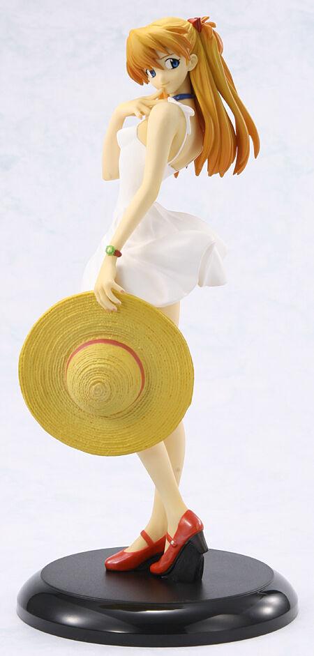 Gainax Evangelion Store EVA White Asuka Langley Sohryu Figure 100% Official