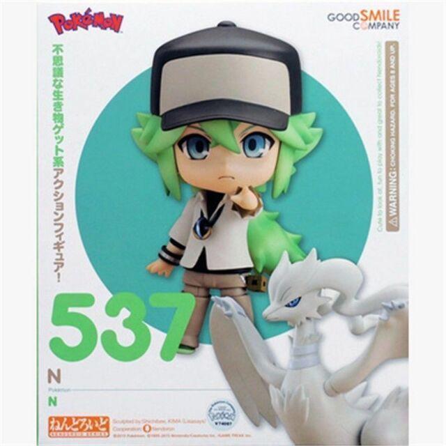 "Nendoroid 537 Pokemon N and Reshiram 4/"" PVC Action Figure Anime"