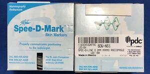 Details about St  John Spee-D-Mark Skin Markers  2mm Line Mammography -  SDW-NS1 - 120/bx