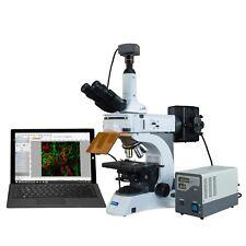 Omax 40x 1000x 18mp Usb30 Infinity Plan Epi Fluorescent Trinocular Microscope
