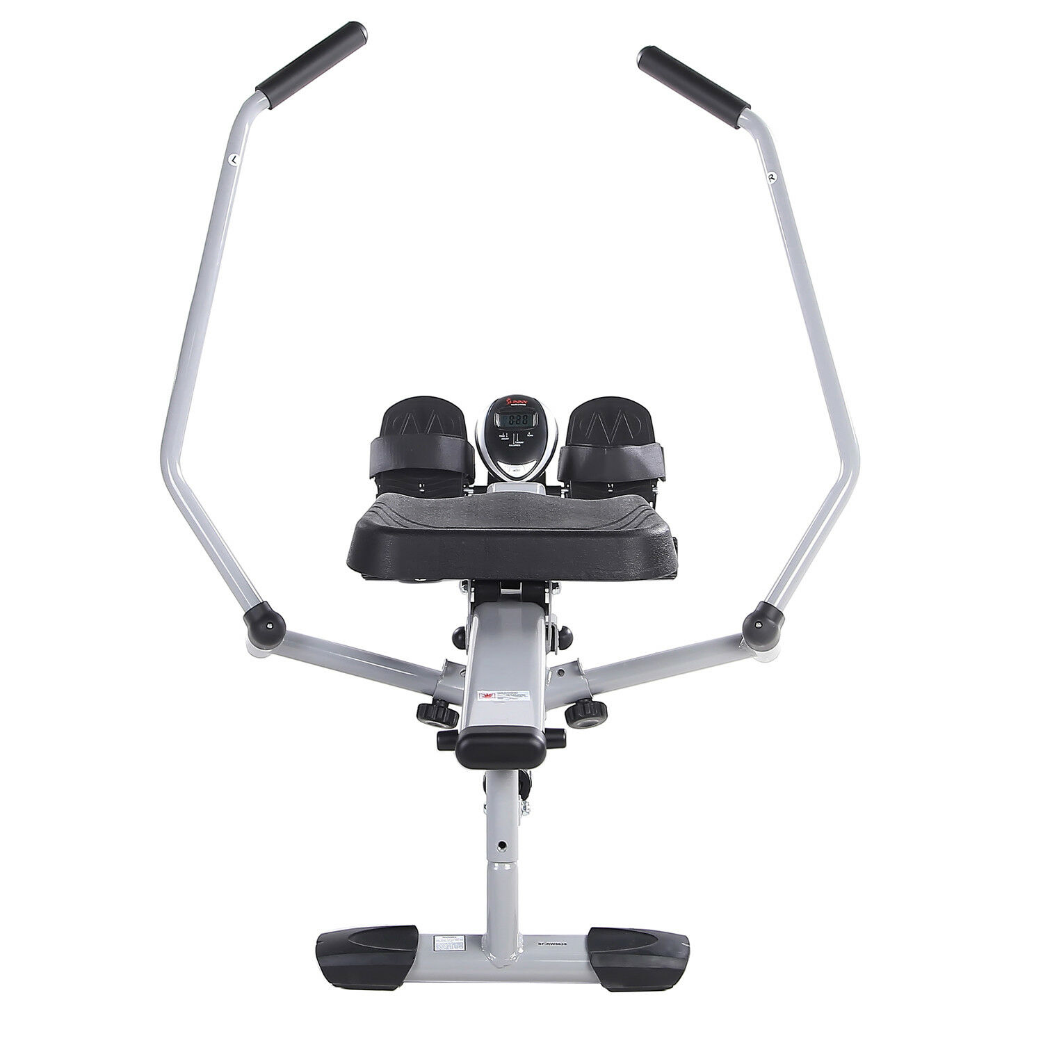 Sunny Health and Fitness Full Motion Rowing Machine Rower with 350lb Capacity an 8