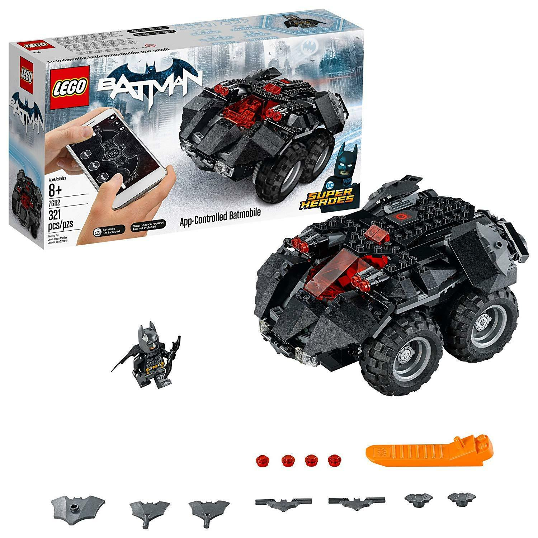 New Lego Super Heroes Batman Batmobile DC 76112 APP-CONTROLLED BATMOBILE
