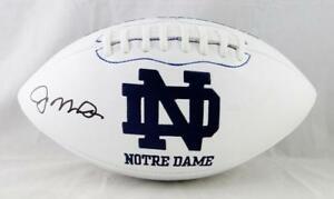 Joe-Montana-signed-Notre-Dame-Fighting-Irish-Logo-Football-Beckett-Auth-Left