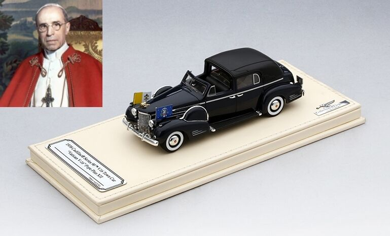 Cadillac Series 90 v16 papà mobile Pope PACELLI PIO XII 1938 1 43 Model