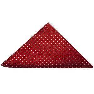 TIES-R-US-Red-and-White-Polka-Dot-Pocket-Square-Handkerchief-Wedding-Prom-Hanky