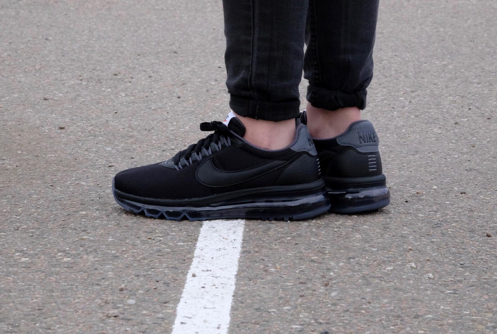Nike Air Max LD Zero shoes BLACK DARK GREY 896495-002 Wmn Sz 9