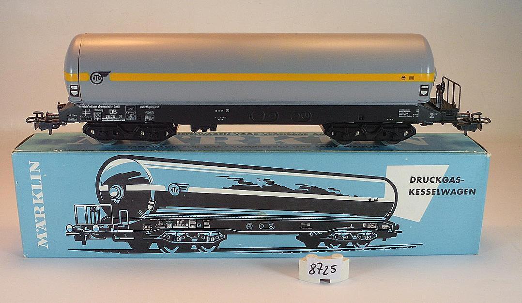 Märklin h0 4628 recipienti di Gas-Caldaia Carrello VTG 4-achsig della DB OVP #8725