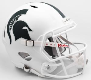 MICHIGAN-STATE-SPARTANS-MSU-NCAA-Riddell-SPEED-Full-Size-Replica-Football-Helmet