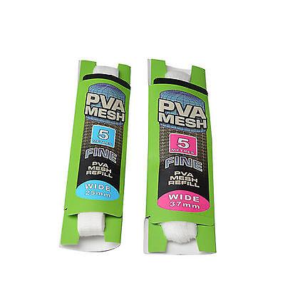 PVA MESH WIDE 37//25mm Tube/&Refills make Stocking Pellet Boilie Bait Carp Bags BE