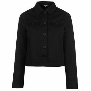 Golddigga-Crop-Jacket-Womens-Black-Coats-Outerwear