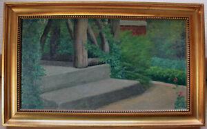 Simon-Simonsen-From-a-green-garden-on-a-summer-039-s-day-Early-1900s