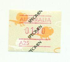 CLAMIDOSAURO - FRILL NECKED LIZARD AUSTRALIA 1986 $1.10 SPECIMEN - SAGGIO Automa
