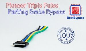 Details about Pioneer MVH-1400NEX Parking Brake Bypass for video and  settings
