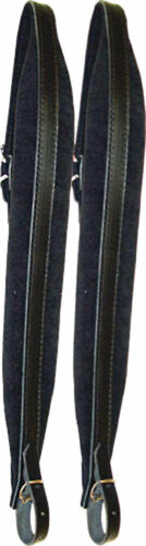 Padded leather,made in Italy Scarlatti STRAPS FOR MELODEON //mid-size ACCORDION