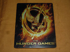 The Hunger Games (Blu-ray Disc, 2012, 2-Disc Set) STEEL BOOK!