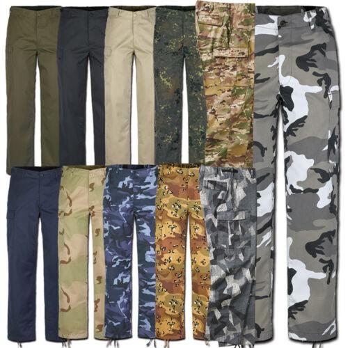 Riduce Brandit US Ranger Army Pantaloni s-7xl tutti i colori Tarn Militare Pantaloni Lavoro