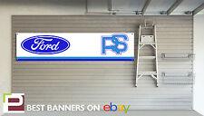 Ford RS Retro Workshop Garage Banner Rallye Sport, Mk2 Escort, Capri, Sierra