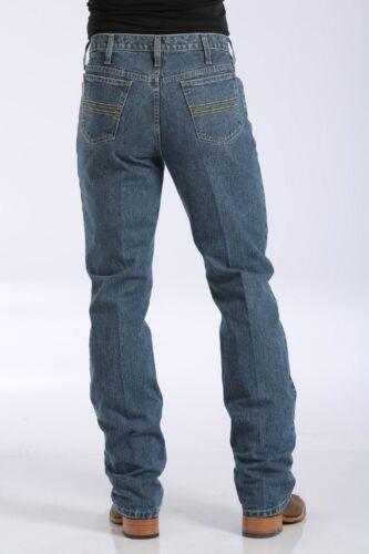 Cinch Mens Silver Label Jeans Slim Fit Med Stonewash StrLeg MB98034001~ALL SIZES