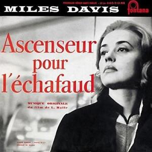 Miles-Davis-Ascenseur-Pour-L-039-echafaud-3x10-034-New-Sealed-Reissue-Vinyl-LP