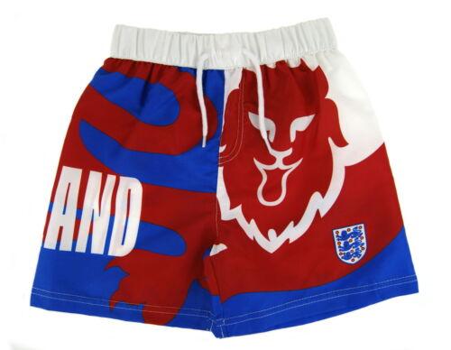 Angleterre Shorts De Bain Garçons Natation TRUNKS Trois Lions Swimwear Board Short Taille