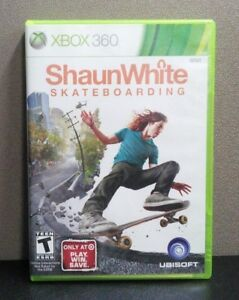 57fb23383e6 Image is loading Shaun-White-Skateboarding-Xbox-360-034-T-034. Image not  available ...