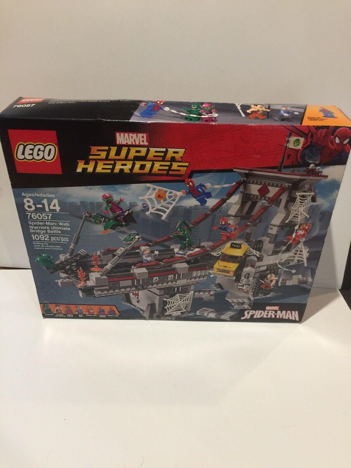 Lego 76057 Spider-Man Spider-Man Spider-Man Marvel Super Heroes 1902 Pcs New f7ec39