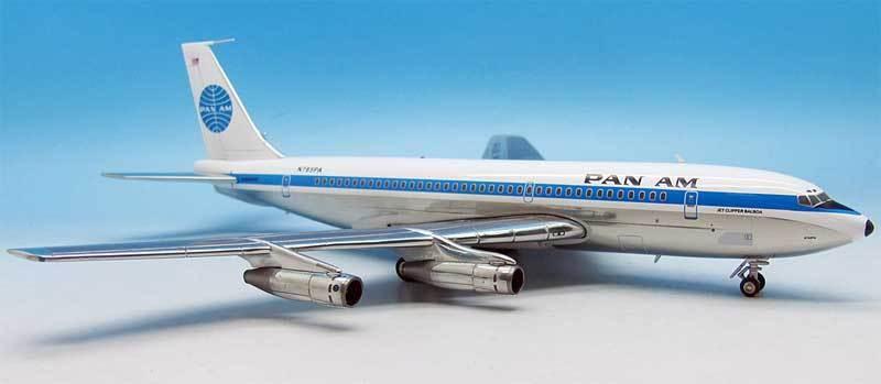 INFLIGHT200 IF7200816P 1/200 Schwenk Ra 'Am Boeing 720-023b N785pa Poliertes mit