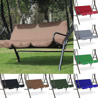 CCatyam Swing Chair Cushion Seat Cover Replacement Waterproof 6 Colors Anti-Dust Swing Seat Cover for Garden Patio Porch Outdoor Coffee Shop,150CM/×150CM/×10cm,Beige