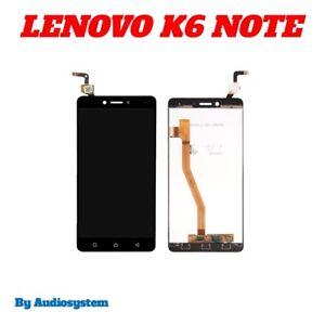 DISPLAY-LCD-TOUCH-SCREEN-per-LENOVO-K6-NOTE-NERO-VETRO-K53A48-PLUS-SCHERMO